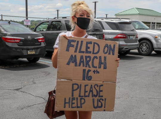 Kentucky unemployment: Protest met by Capitol staff to ...