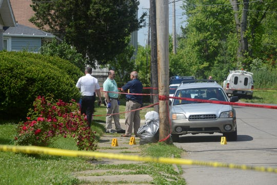 Mansfield police investigated a possible shooting on Louise Avenue Tuesday afternoon.