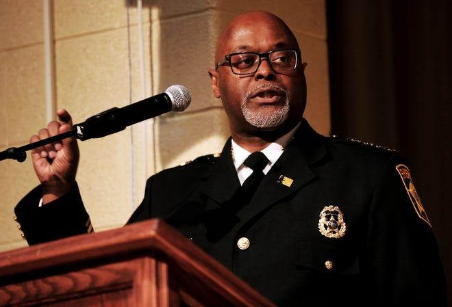 Sheriff Earnell R. Lucas.