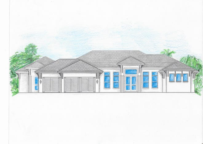 Cintron Custom Builders has just announced the start of a new custom home  in Oakes Estates with 4,141 square feet of living space and 5,458 total square feet .