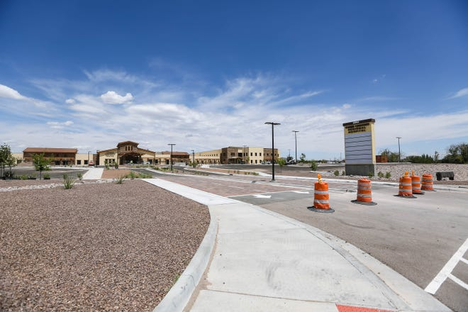 Three Crosses Regional Hospital nears completion in Las Cruces on Tuesday, June 16, 2020.