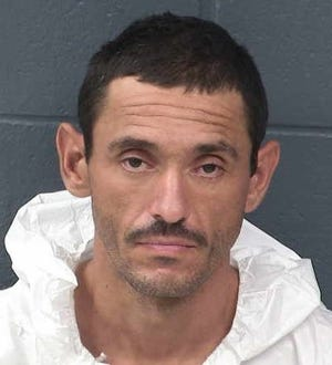 Mathew Paul Gallegos was arrested by Las Cruces police Tuesday for being suspected of sexually assaulting a woman whom he previously was suspected of assaulting a week earlier.
