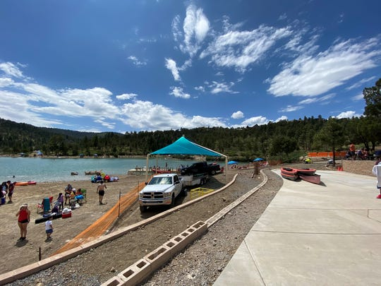 The village of Ruidoso officials became concerned for public safety since June 13, when Grindstone Lake filled up quickly.