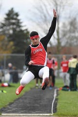Canton's Caden Domzalski will run track and play football at Briar Cliff University in Iowa.