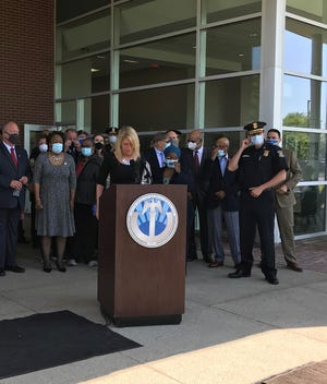 Western Wayne County leaders introduced a listening tour Tuesday, June 16, 2020, because of protesters calling for police reforms.