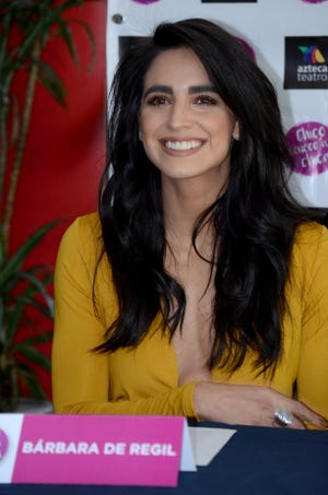 Bárbara de Regil dice que cuidará su lenguaje.