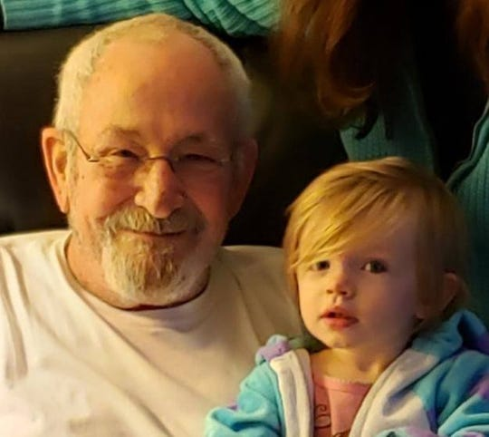 Dr. Michael Shier with great grandchild Rory. Michael Shier died on June 14, 2020, at 74.