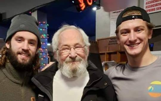 Dr. Michael Shier with his grandsons Alex and Grayson. Michael Shier died on June 14, 2020, at 74.
