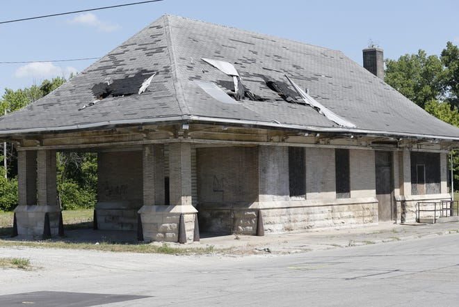 The former C&O Depot on North Third Street in Richmond was built in 1901. but it has fallen into disrepair after years of neglect.