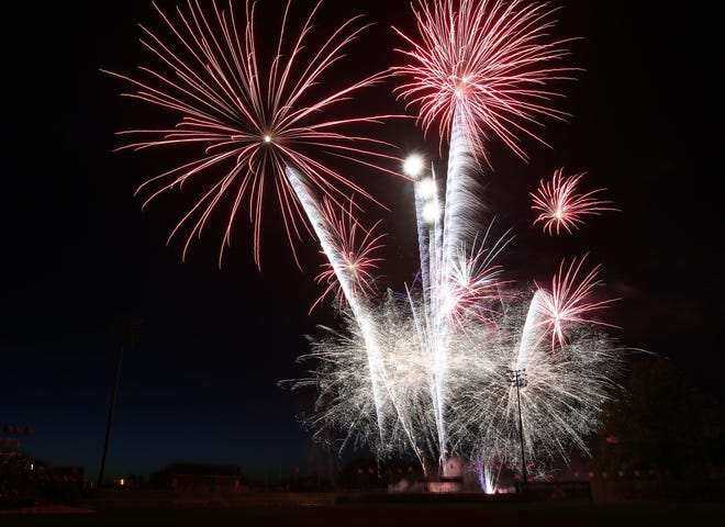 The Salem-Keizer Volcanoes are hosting Drive-In Fireworks nights on June 19 and 26.