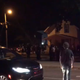 A large crowd formed early Tuesday morning near Ninth Avenue South and University Drive in St. Cloud.