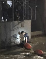 U.S. Border Patrol agents and U.S. Customs and Border Protection officers rescued three migrants June 12 from a canal west of the Paso Del Norte international crossing near Downtown El Paso.