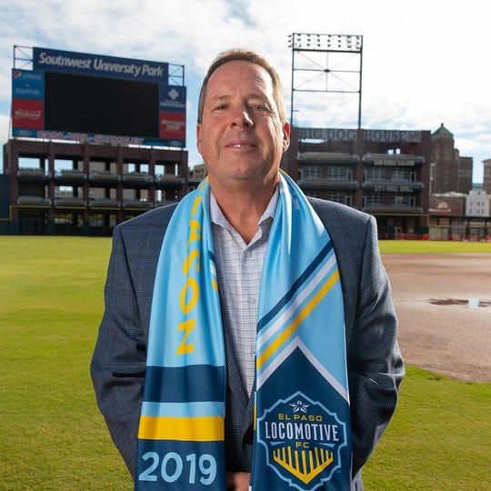 Bob Bigney is the El Paso Locomotive's director of youth soccer