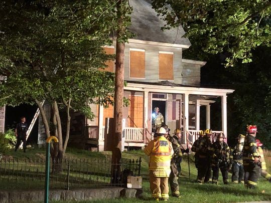 A fire brought the Millville Fire Department to a vacant residence along East Mulberry Street. June 15, 2020