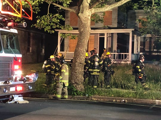 Millville Fire Department responded to a residential fire along Mulberry Street on June 15, 2020.