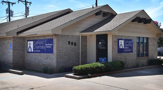 The Catholic Charities of Fort Worth Northwest Campus is located at 907 Holliday in Wichita Falls. The nonprofit may receive funding for COVID-related help.