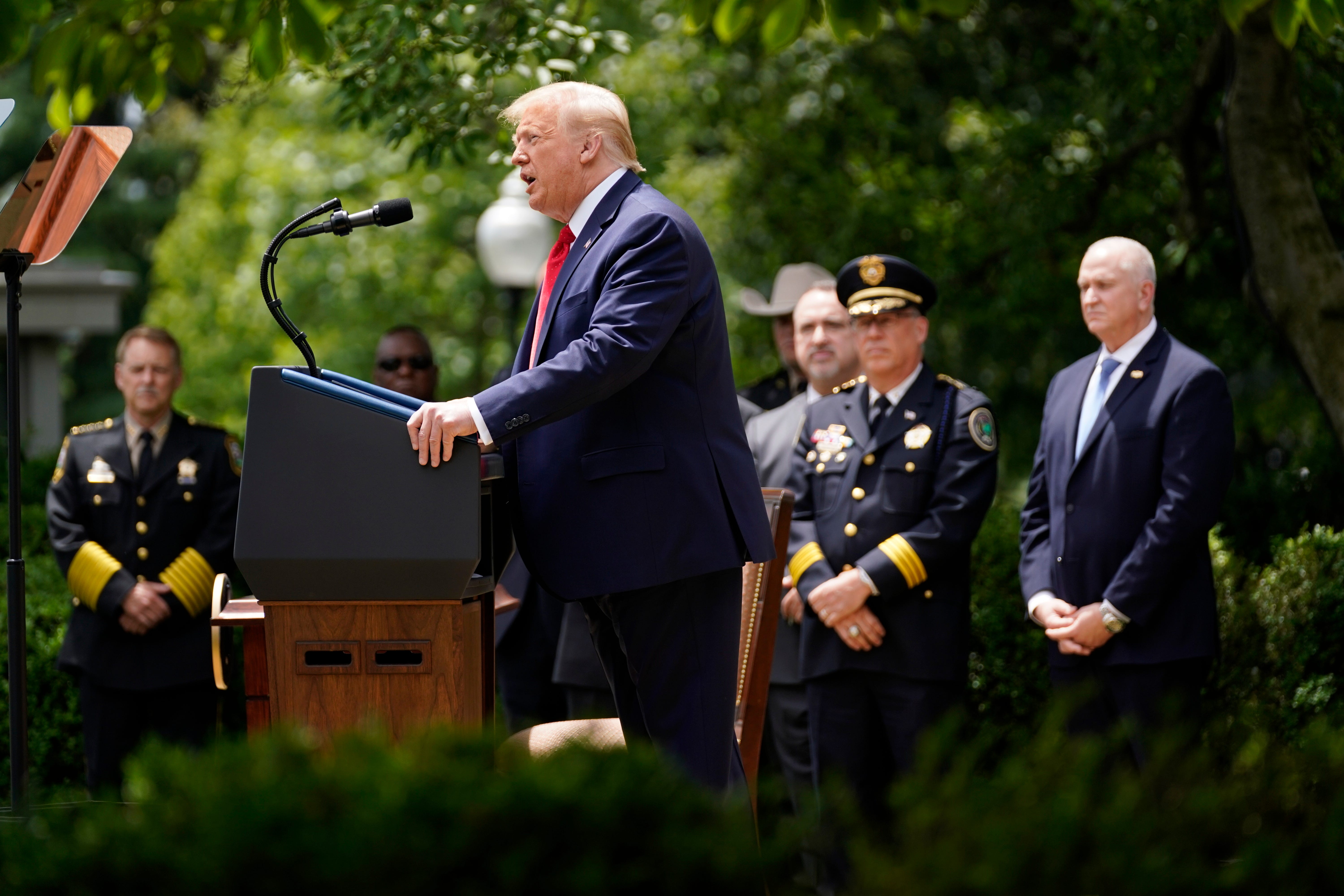 Ahmaud Arbery s relatives, other families have  contentious  meeting with Trump on police
