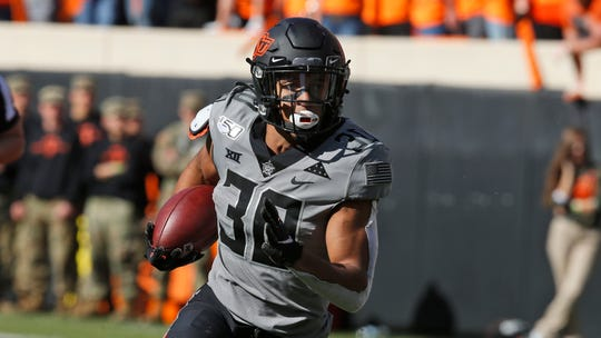 Oklahoma State running back Chuba Hubbard posted a message on his Twitter page Tuesday morning explaining his Monday tweet about coach Mike Gundy.