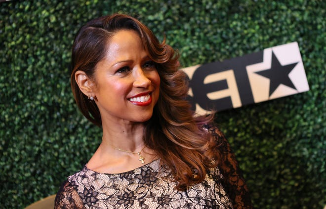 """Stacey Dash revealed in May that she is splitting from her lawyer husbandJeffrey Marty after two years of marriage.  """"My husband and I have made the hard decision of ending our marriage. After much prayer, I feel this is the right path for both of us,"""" she wrotein a message posted to her Instagram account.  She added, """"I wish him nothing but the best. Thank you everyone for your support and respecting our privacy during this difficult time.""""  Marty was her fourth husband."""