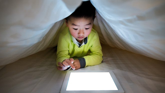 A survey from last August found 70% of parents estimated their kids spend at least four hours a day with screens.