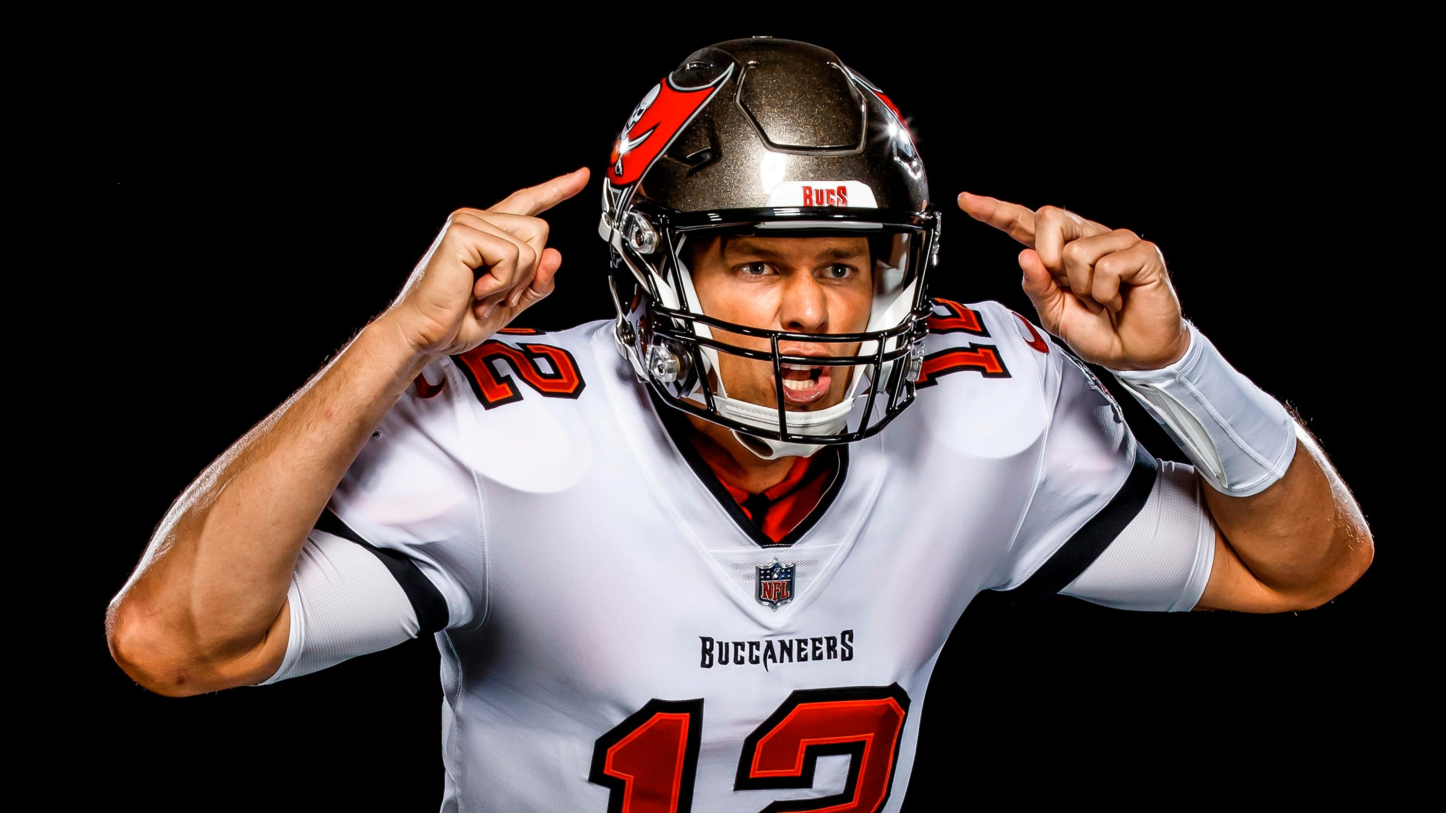Tom Brady: Buccaneers release first photos of QB in new uniform