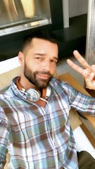 Ricky Martin is at 真人百家家乐官网网站home in Los Angeles with his husband, painter Jwan Yosef, and their four kids.