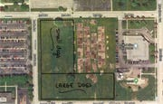 Kimberly-Clark Corp. has offered to donate land for a Neenah dog park. The property is bound by Byrd Avenue, Brooks Avenue and Joseph Street.