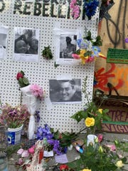 Stonechild Chiefstick's photo was included last week in a memorial near Seattle's Pine Street inside the so-called Capitol Hill Organized Protest.