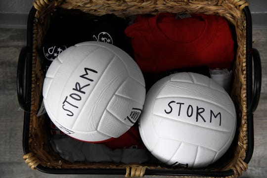 Storm volleyball hosts classes, Tuesday, June 16, 2020. The volleyball club has returned to operation after nine weeks being shut down.