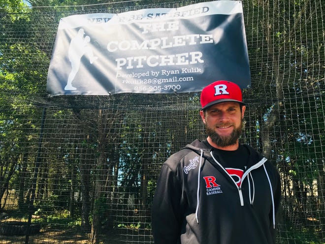Rutgers-Camden baseball coach Ryan Kulik built a batting cage and bullpen in his backyard and South Jersey professionals, college and high school players are flocking to it for game-like at-bats.