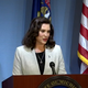 Gov. Gretchen Whitmer appeared at a news conference on June 17, 2020.