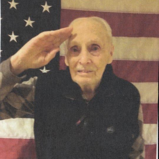 John (Jack) Collis, age 92, on Veterans Day.