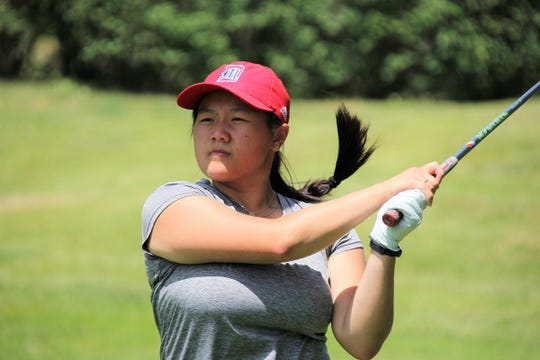 Ariel Chang of Macomb Township finished 1-under 71 Tuesday to win the girls 16-18 age division of the GAM Junior Kickoff Championship.