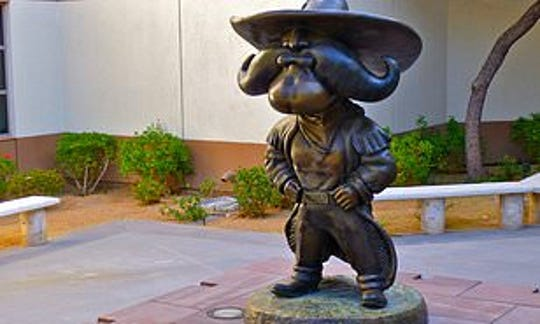 UNLV is removing its Rebel statue amid student protests.
