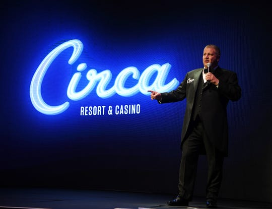 Derek Stevens' Circa Resort & Casino is scheduled to open in October.