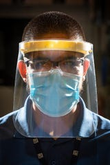 GM 3-D printed parts for more than 17,000 face shields that were donated to hospitals and first responders.