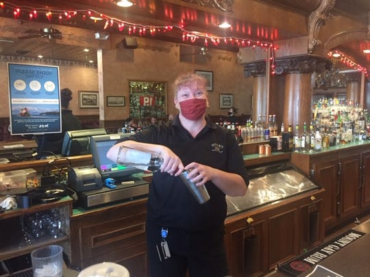 Summer Sahm, restaurant manager at Horn's Bar, thinks the island will be understaffed for holiday crowds this summer.