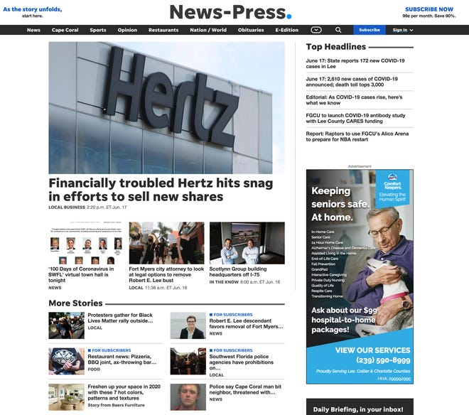 news-press.com gets speedier and streamlined design for our desktop site and mobile web.