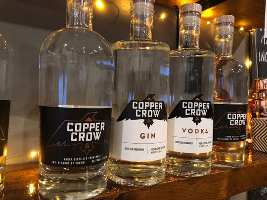 Copper Crow Distillery produces gin, vodka and rum on-site in the Northwoods.