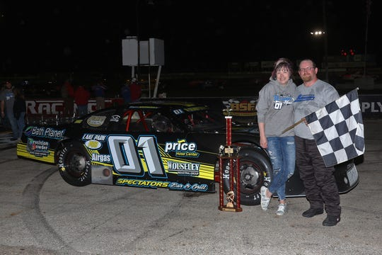Appleton's Bryan Monday became the first racer at Wisconsin International Raceway to double up on feature wins in 2020 when he won last Thursday night in the late model division.
