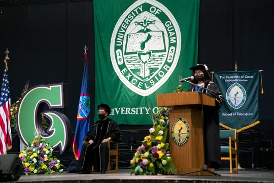 The virtual commencement will follow the same format as traditional commencements, with a stage and speakers.
