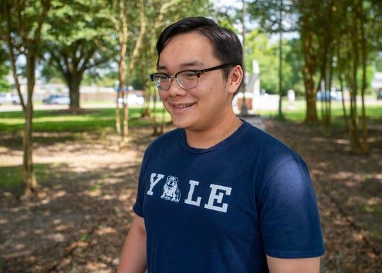 Lafayette High School graduate Jeff Pham will attend Yale University in the fall. Wednesday, June 17, 2020.