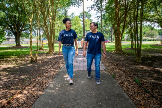 Lafayette High School graduates Peyton Sias and Jeff Pham will attend Yale University in the fall. Wednesday, June 17, 2020.