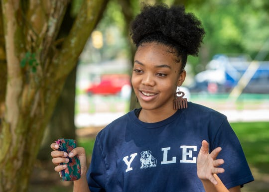 Lafayette High School graduate Peyton Sias will attend Yale University in the fall. Wednesday, June 17, 2020.