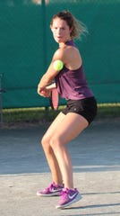 Former Lex star Sylvia Goldsmith, who just finished her freshman year at Belmont Abbey College in North Carolina, has won the women's singles title four of the last five years in the News Journal Tennis Tournament.
