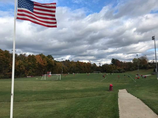 Comstock Field, home of the Mansfield Christian Flames and Lady Flames soccer teams, is one of the most breathtaking venues in Richland County.