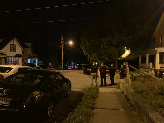 Mansfield police investigated a shooting Tuesday night in the 200 block of Parkway Drive.