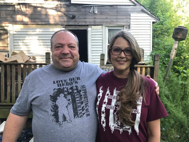 Ron Bigelow, a U.S. Army veteran, is getting help from Tami Oyster, the owner of Love Our Hero's Store and Donation Center in Bellville, which helps local veterans. The organization plans to demolish and rebuild his deteriorated Mansfield home for free.