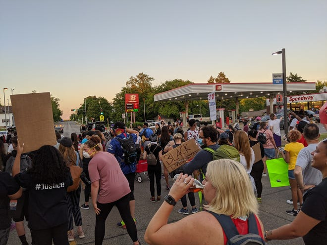 The Speedway in Menomonee Falls is under fire for closing early when protesters wanted to stop in the gas station to buy food, drinks and ice during a protest on Tuesday, June 16.