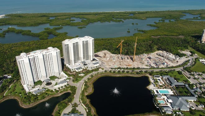 Construction continues to move forward on Tower 300 at Kalea Bay